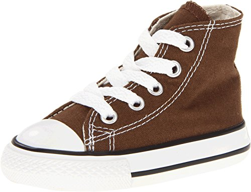 Converse Chuck Taylor All Star Hi Top Chocolate 7p626 Infants 4 ()