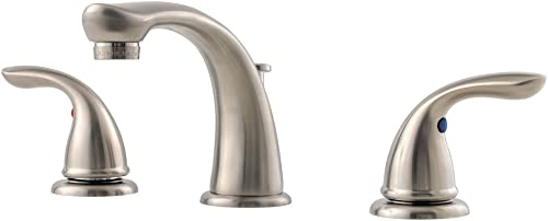 Pfister 149610K Pfirst Series 8-Inch Widespread Bathroom Faucet, Brushed Nickel