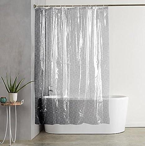 Stop N Shopp Beautifull Look Multicolour PVC Shower Curtain Bathroom Length 9Feet Amazonin Home Kitchen