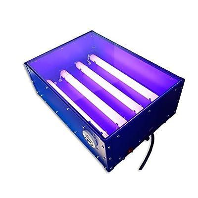 18 x 12in UV Exposure Unit Screen Printing Plate Making Silk Screening DIY 110V 60W