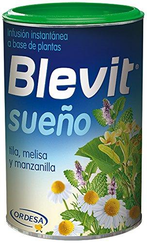 Blevit Sueno, 1 bote 150grs Ifusion instantanea elaborada a base de extractos solubles de plantas (tila, melisa y manzanilla)