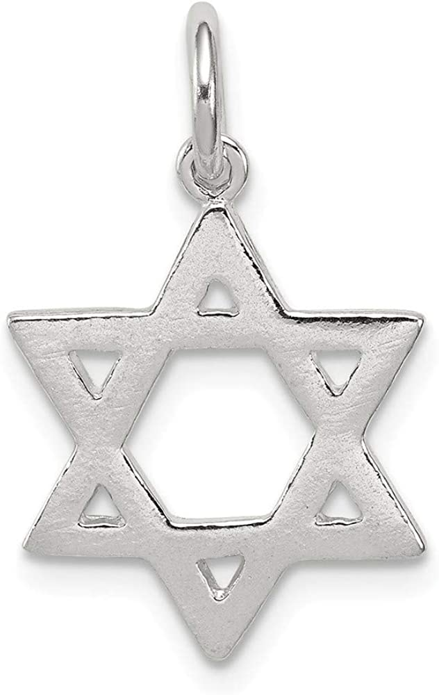 925 Sterling Silver Jewish Jewelry Star Of David Pendant Charm Necklace Religious Judaica Fine Jewelry For Women Gifts For Her 51-0I2BSWFbL