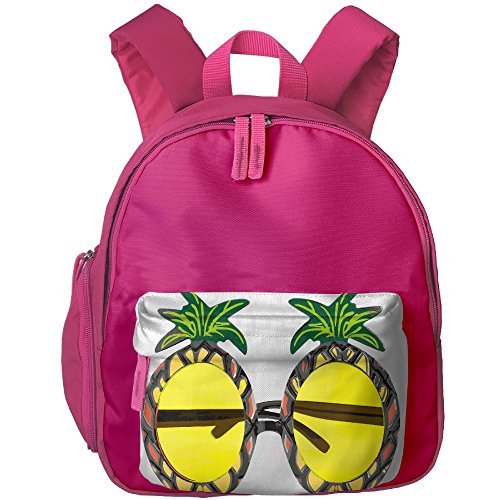 Pineapple Sunglasses Childrens' Shoulders School Book Bags Travel For An Outing Backpack - Sunglasses Clip Art