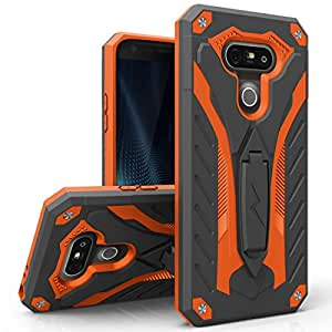 LG G5 Case, Zizo [Static Series] Shockproof [Military Grade Drop Tested] with Built-in Kickstand [LG G5 Heavy Duty Case] Impact Resistant
