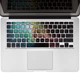 Crocodil Graphics Nebula Keyboard Stickers for MacBook Pro 13, 15, 17 and MacBook Air 13