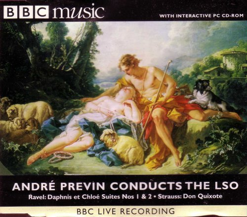 Andre Previn Conducts the LSO: Ravel: Daphnis et Chloe Suites Nos 1 & 2/Strauss: Don Quixote/ BBC Music Volume 7 No - Outlets Silverthorne