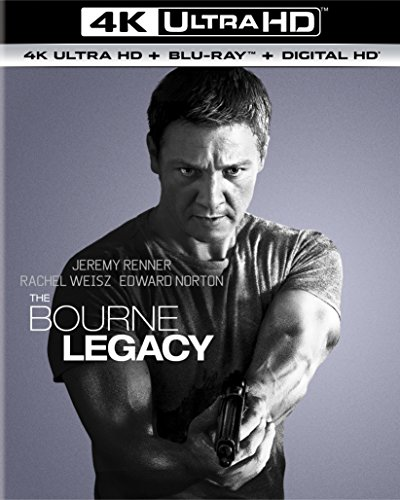4K Blu-ray : The Bourne Legacy (With Blu-Ray, 4K Mastering, Ultraviolet Digital Copy, 2 Pack, Snap Case)