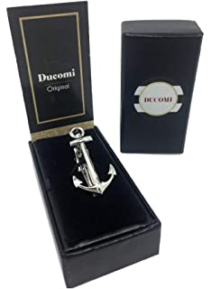 Ducomi Le Clip - Alfiler de Corbata para Hombre con Acabado ...