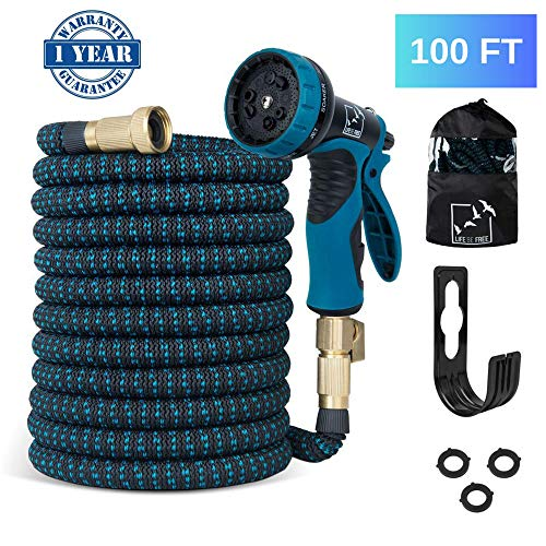 LifebeFree Expandable Garden Hose 100 ft, All