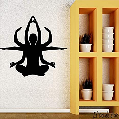 Yoga Budismo Meditación Mantra Pegatinas de Vinilo ...