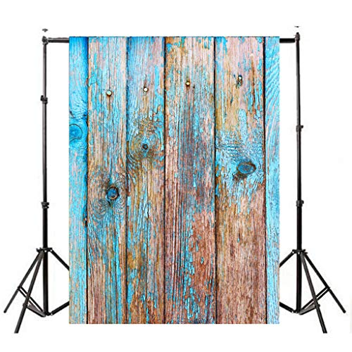- LiPing Vinyl Wood Wall Floor Photography Studio Prop Backdrop Background 3x5FT (A)