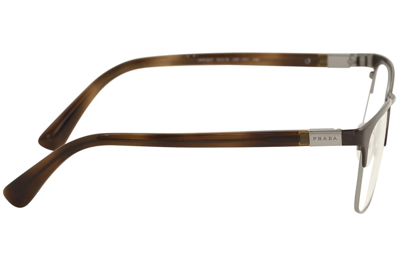 Amazon.com: Prada Men\'s PR 54TV Eyeglasses 53mm: Clothing