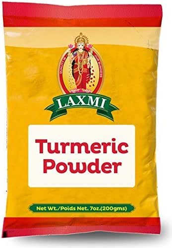 Laxmi Natural Ground Turmeric Powder - 7oz (200g)