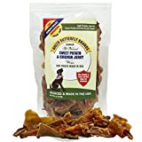 Green Butterfly Brands Sweet Potato Chicken Jerky Wraps – Dog Treats Made in USA – Two Ingredients: USA Sourced Sweet Potato & USDA Grade A Chicken Breast – No Additives or Preservatives – Dogs Love