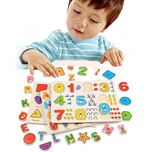 Christmas Gifts New Year Gifts Alphabet Wooden ...