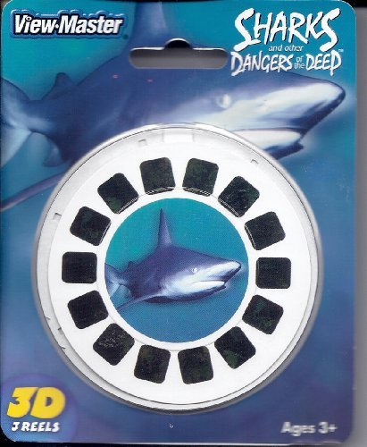 View-Master 3D 3-Reel Card Sharks and Other Dancers of the Deep by View Master (Image #1)