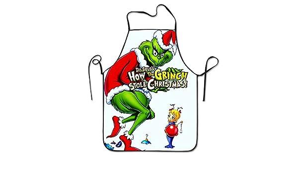Cómo el Grinch robó la Navidad cuello babero Delantal para ...