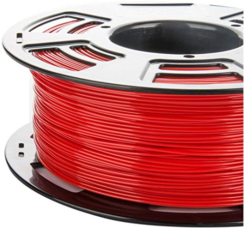 3DDPLUS Unknown 1.75 mm PLA 3D Printer Filament, True Red- 1kg Spool (2.2 lb.) - Dimensional Accuracy +/- 0.03 mm