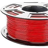 3DDPLUS PLAcolors-Parent 1 1.75mm PLA 3D Printer Filament True 1kg Spool (2.lbs) - Dimensional Accuracy +/0.05mm, Red