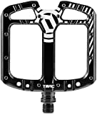 Deity, TMAC, Platform Pedals, AL-6061 body, Cr-Mo axle, 110mm x 105mm, Black