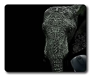 Tattooed elephant Easter Thanksgiving Personlized Masterpiece Limited Design Oblong Mouse Pad by Cases & Mousepads