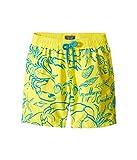 Vilebrequin Kids  Boy's Flocked Shellfish Swim Trunk (Big Kids) Yellow Swimsuit Bottoms