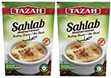Sahlab , Mediterranean Pudding Dessert / Hot Drink (200g) 2-Pack