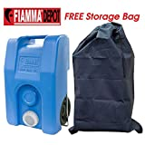 Fiamma Fresh Water Carrier 23L Caravan Motorhome Food Grade Blue + FREE Storage Bag