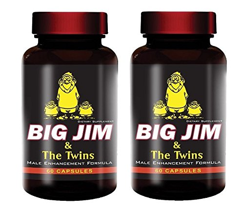 Big Jim & The Twins Male Enhancement All Natural Formula 60 Pills Per Bottle (2)