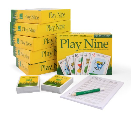 Play Nine - The Card Game of Golf! (6 Pack) by Play Nine