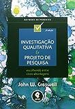 capa de Investigação Qualitativa e Projeto de Pesquisa