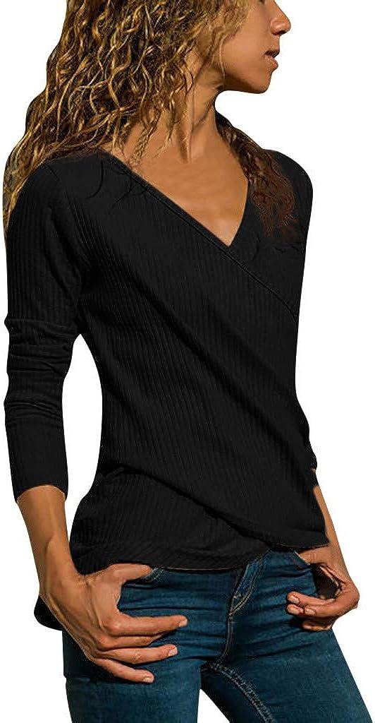Pumsun Women Casual Long Sleevel Tank Top T Shirt Blouse