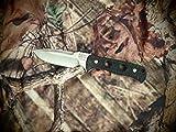 Florian Knives FK3302 Vorax Black Fixed Blade Knife