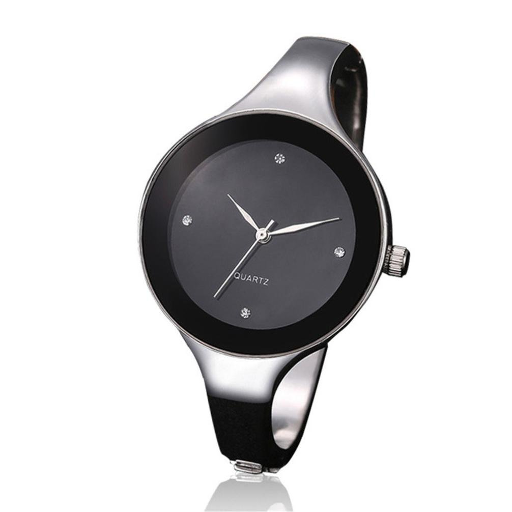 Clearance! Women Watches, SINMA Simple Silver Stainless-Steel Strap Bracelet Analog Quartz Wrist Watch