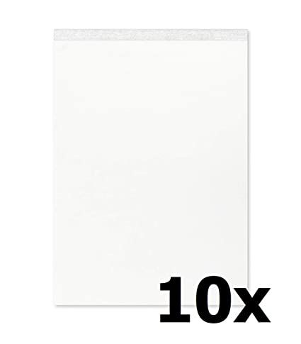 Landre 100101166 libreta, 60 g/m², A7, en blanco, de 50 hojas, 10 ...