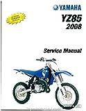 LIT-11616-20-08 2007-2014 Yamaha YZ85 Motorcycle Service Manual