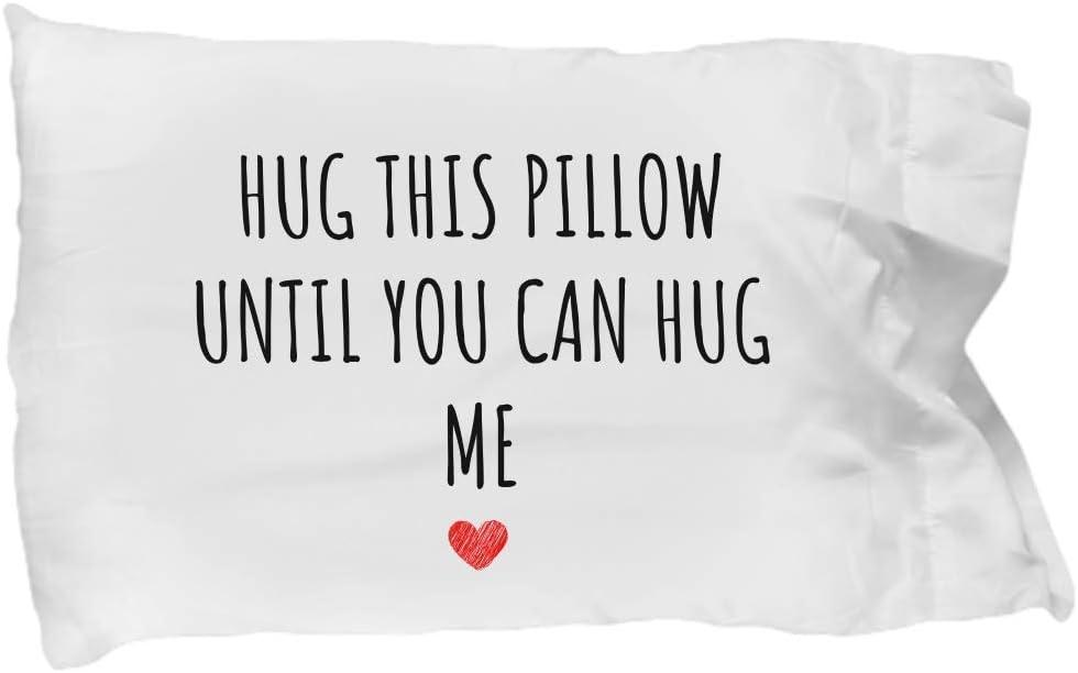 Cushion with Hug Me padding Cushion with message.