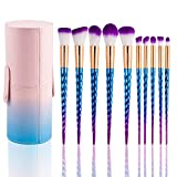 Best U-Beauty Liquid Foundation Brushes - Kabuki Makeup Brush Set - 10PCS SONGQEE Premium Review
