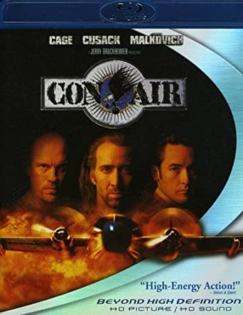 Con Air Usa Blu Ray Amazon Es Nicolas Cage John Cusack John Malkovich Ving Rhames Nick Chinlund Steve Buscemi Colm Meaney Rachel Ticotin Dave Chappelle Mykelti Williamson Danny Trejo M C Gainey Steve Eastin Renoly Full movie online free when the government puts all its rotten criminal eggs in one airborne basket, it's asking for trouble. amazon es
