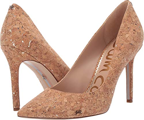 Sam Edelman Women's Hazel Natural/Gold Metallic Fleck Cork 6.5 W US