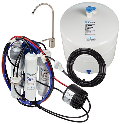 Home Master TMULTRA-ERP-L with Permeate Pump Loaded Undersink Reverse Osmosis Water Filter System by Home Master