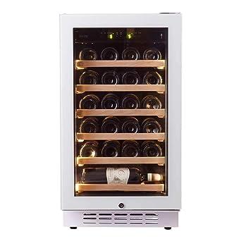 Pevino EVO - Nevera de vino con 24 botellas en una sola zona para ...