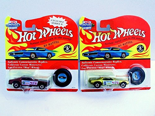 Mongoose Vehicle - 1993 Hot Wheels Vintage Series II Don Prudhomme Mongoose & Tom McEwen Snake Cars