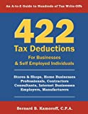 422 Tax Deductions for Businesses and Self, Bernard Kamoroff, 0917510313