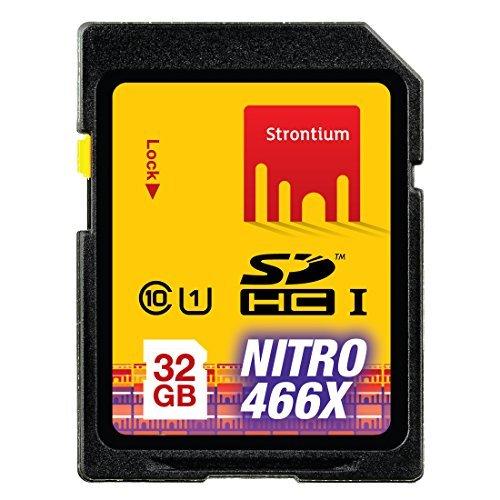 Strontium 32 GB NITRO SDHC NITRO 466X Memory Card – Class-10
