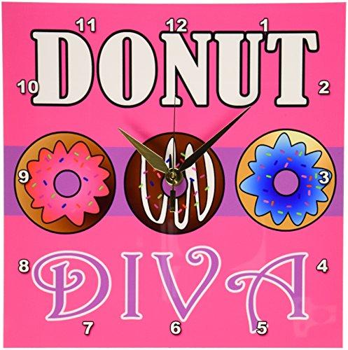3dRose dpp 43170 1 Diva Kawaii Sweets Pink Wall 10 Inch