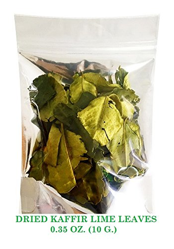 Thai Tasty Dried Kaaffir Lime Leaves 10 Gram Part Of Tom Yum Sets Thai Food Hot and Spicy Soup For The Kitchen will Returnable To Fresh After Cooked.