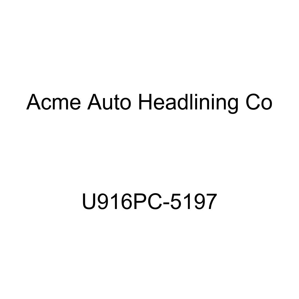 Acme U916PC-5197 Front and Rear Camel Vinyl Bench Seat Upholstery