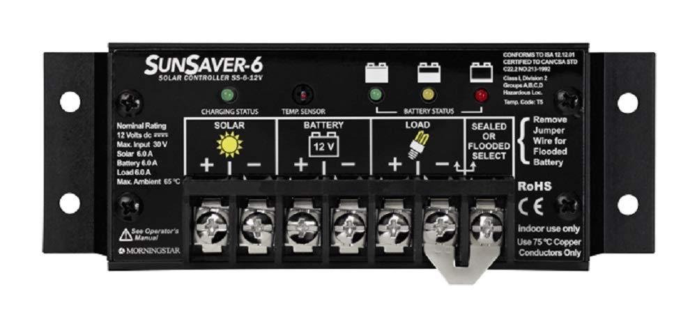 Morningstar SS-6-12V Sunsaver-6 Amp