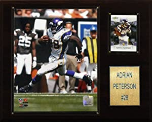 NFL Adrian Peterson Minnesota Vikings Player Plaque